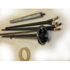 "Ремкомплект замены  ""мокрого""  ТЭНа на штампованном фланце D 64 мм типа RF на сухие ТЭНы."
