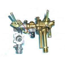 Газовый и водяной узел для AEG  GWH 11E N13 (279702).